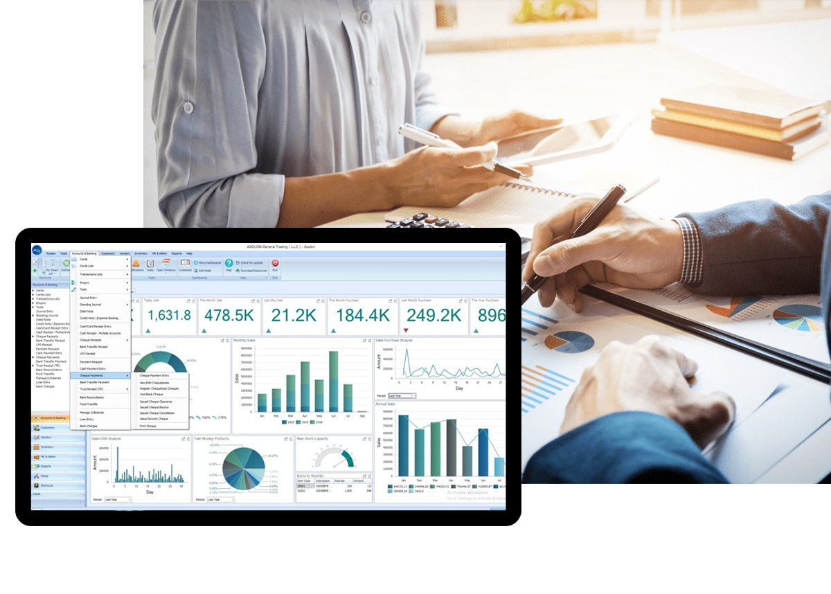 Accounting And Finance Management Software Solution In Dubai UAE