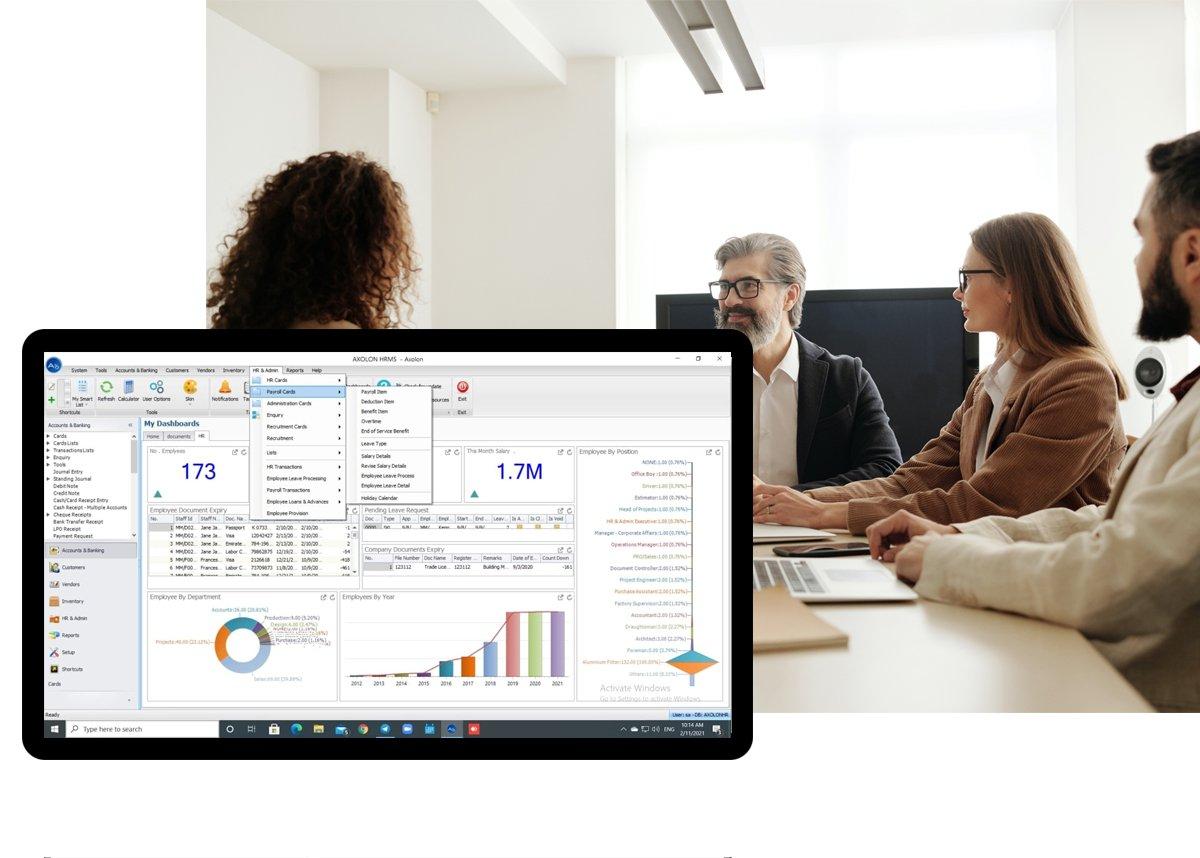 HR & Payroll Software Solution In Dubai UAE
