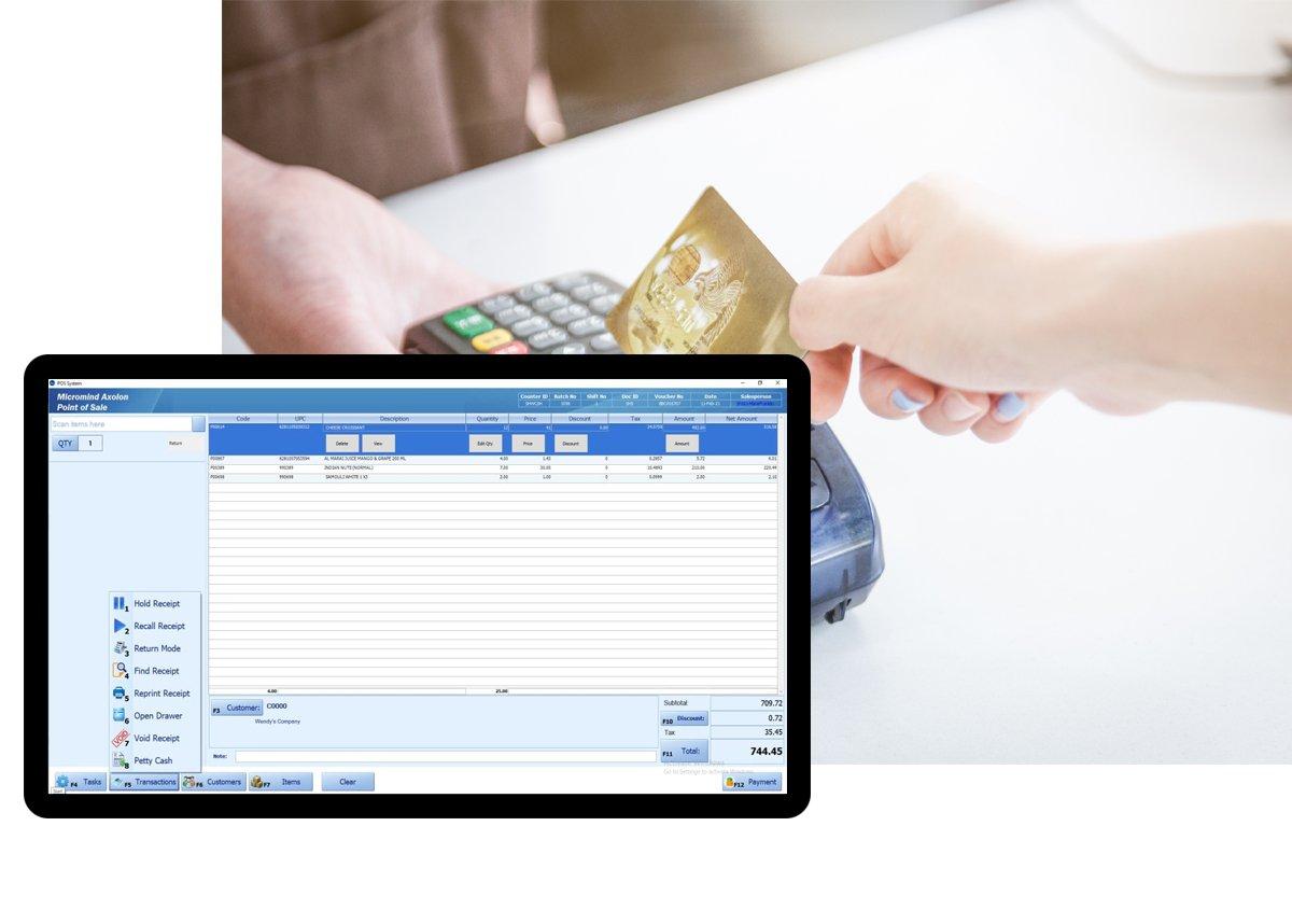 POS Software Solution In Dubai UAE