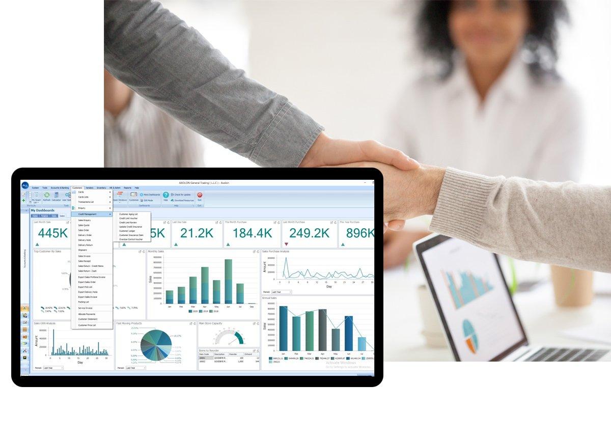 Sales & Distribution Software Solution In Dubai UAE
